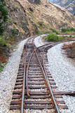 Ecuador Train Tracks Royalty Free Stock Photo
