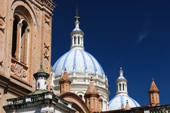 Ecuador, View on the Cuenca city Royalty Free Stock Image