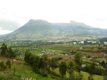 Ecuador Volcano. Large Volcano Outide of Quito, the Capital City of Ecuador royalty free stock photography