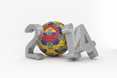 Ecuador world cup 2014 Royalty Free Stock Photo