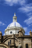 Ecuadorian Cathedral in Cuenca Royalty Free Stock Image