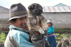 Ecuadorian Farmers Stock Images