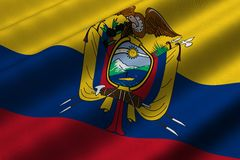 Ecuadorian Flag Stock Photos