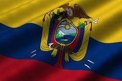 Ecuadorian Flag Stock Photos