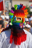 Ecuadorian Folk Mask Stock Image