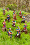 Ecuadorian Folkloric Group Royalty Free Stock Photography