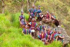 Ecuadorian Folkloric Group Royalty Free Stock Image