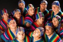 Ecuadorian Folkloric Group Stock Image