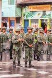 Ecuadorian Ground Force Stock Image