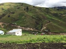 Ecuadorian highlands Stock Photo