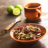 Ecuadorian Horchata Herbal Tea Royalty Free Stock Image
