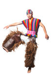 Ecuadorian National Costume Royalty Free Stock Photo