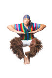 Ecuadorian National Costume Royalty Free Stock Image