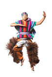 Ecuadorian National Costume Royalty Free Stock Images