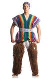 Ecuadorian national costume Royalty Free Stock Images
