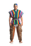 Ecuadorian National Costume Royalty Free Stock Photography