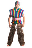 Ecuadorian National Costume Stock Photo