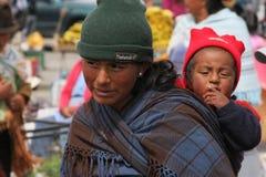 Ecuadorian People Stock Photo