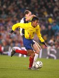 Ecuadorian player Luis Gomez Stock Images