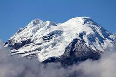 Ecuadorian volcano. Volcan Antisana in the Andes of Ecuador Royalty Free Stock Photos