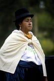 Ecuadorian woman - Otavalo - Ecuador Stock Images