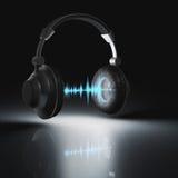 Ecualizador gráfico de las auriculares Fotos de archivo
