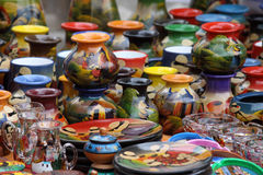 Ecuatoriaans aardewerk Royalty-vrije Stock Afbeelding