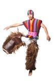 Ecuatoriaans nationaal kostuum Royalty-vrije Stock Foto's
