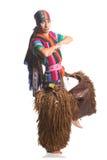 Ecuatoriaans nationaal kostuum Stock Foto's