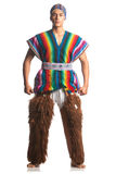 Ecuatoriaans nationaal kostuum Royalty-vrije Stock Afbeeldingen