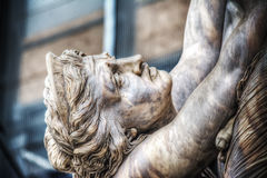 Ecuba crying in Ratto di Polissena statue Royalty Free Stock Photo
