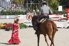 """Ecuestrian Exhibition """"Córdoba Ecuestre"""". Stock Image"""