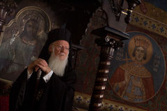 Ecumenical Patriarch Bartholomew Stock Photography