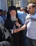 Ecumenical Patriarch Bartholomew I of Constantinople Royalty Free Stock Photography