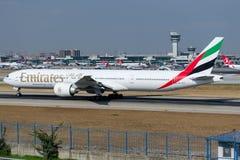 A6-ECV Emirate, Boeing 777-31H/ER Stockbild
