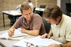 Ed adulto - estudando Foto de Stock Royalty Free