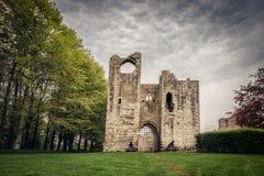 Ed altri castello in Northumberland, Inghilterra fotografia stock