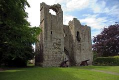 Ed altri Gatehouse del castello Fotografie Stock Libere da Diritti