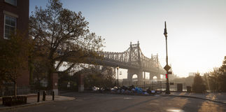 Ed Koch Queensboro Bridge Stock Image