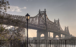 Ed Koch Queensboro Bridge Stock Photo