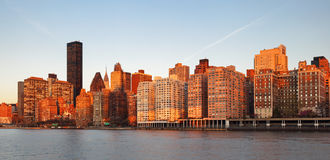 Ed Koch Queensboro Bridge from Manhattan. It is also known as th Royalty Free Stock Photo