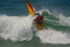 Ed Long (ENG) in International Classic Kayaksurf Stock Images