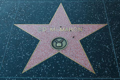 Ed McMahon Hollywood Star Stock Photos