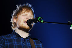 Ed Sheeran Fotos de Stock Royalty Free