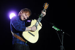 Ed Sheeran royalty free stock photography
