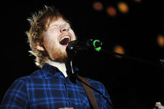 Ed Sheeran Stock Image