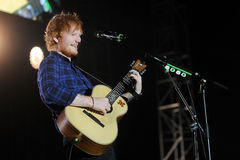 Ed Sheeran Royalty Free Stock Photo