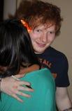 Ed Sheeran 2012. Ed Sheeran with fan May 2012 at the Los Angeles, Palladium Stock Photos