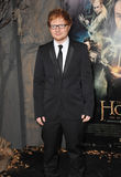 Ed Sheeran. LOS ANGELES, CA - DECEMBER 2, 2013: Singer/songwriter Ed Sheeran at the Los Angeles premiere of The Hobbit: The Desolation of Smaug at the Dolby Stock Photography
