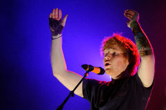 Ed Sheeran performs at FIB Stock Photos